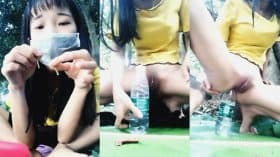 Loli ตกเบ็ดด้วย ขวดน้ำกับแตงกวา
