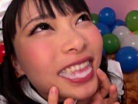 Airi Natsume ใจเด็ดจับโม๊คควยผู้ชายที่ละคน