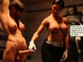 การ์ตูน 3D โครตเด็ด นมใหญ่มากๆ ก้นสวยจริงๆ